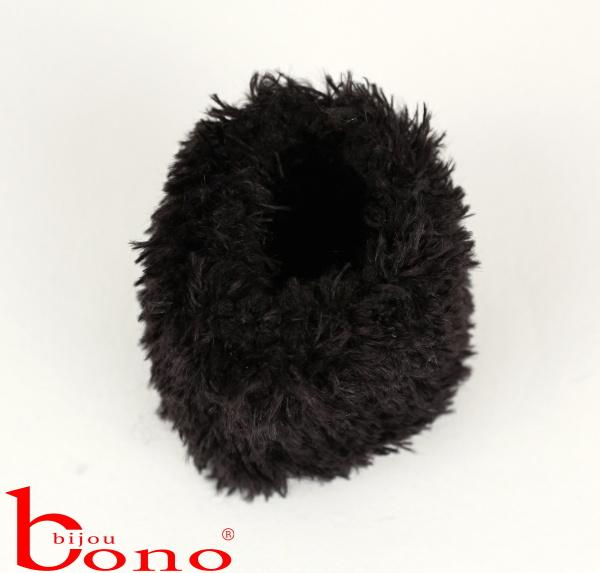 Bižuterie eshop BONO BIJOU - Gumička do vlasů 6 ks pouze černá barva 44e59451a3